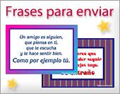 Tarjetas de  Frases para enviar