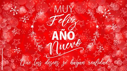 Por un feliz año y nuevos sueños