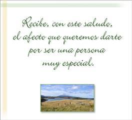 Tarjeta de Mensaje espiritual