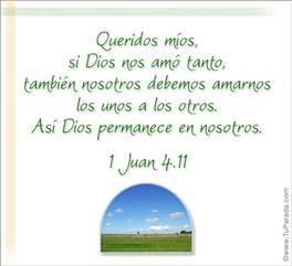 Así Dios permanece en nosotros