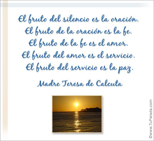 La Paz Mensaje Espiritual Tarjetas