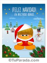 Tarjeta de Imágenes de Navidad