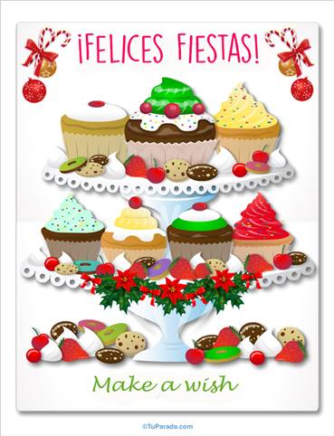 Fiestas con cupcakes