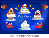 Tarjetas de Navidad en portugués
