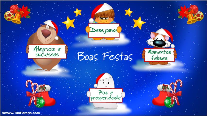 Resultado de imagem para postais de boas festas