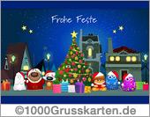 Tarjetas de Navidad en alemán