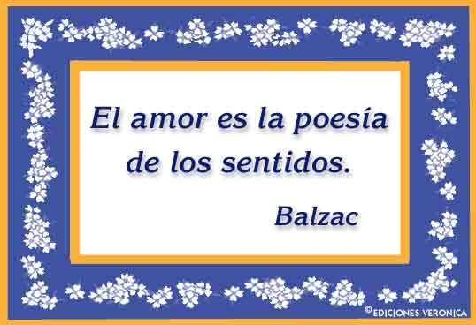 Tarjeta - Frase de Balzac