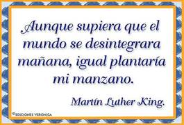 Frase de Martin Luther King