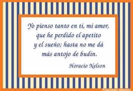 Frase de Horacio Nelson