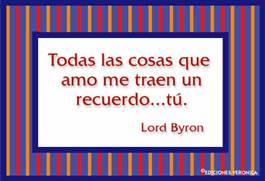 Frase de Lord Byron