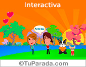 Tarjeta romántica interactiva