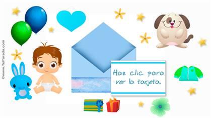 Tarjeta para bebé
