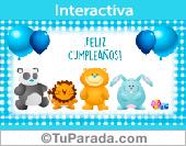 Tarjeta - Tarjeta de cumpleaños para niños