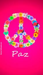 Fondo para móviles: Símbolo de la paz