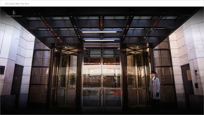 Tarjeta - Four Seasons Hotel New York