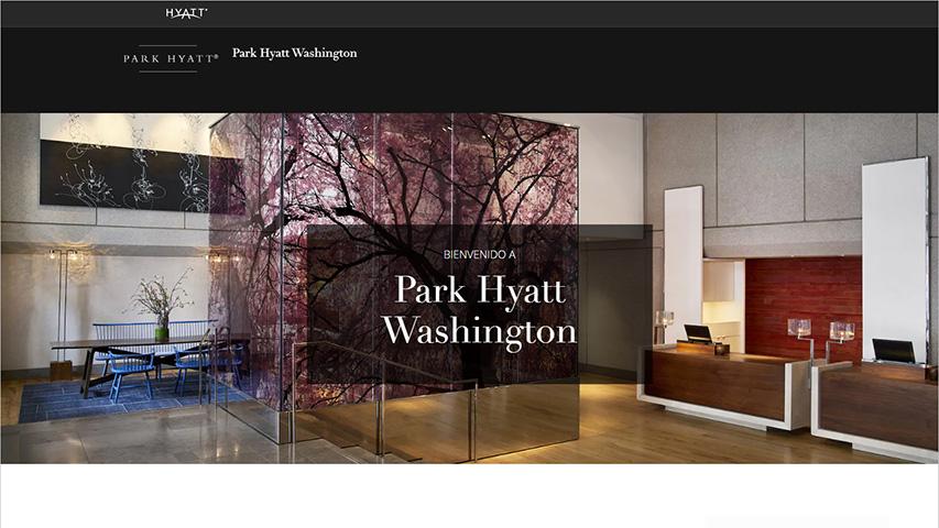 Tarjeta - Grand Hyatt Washington at Washington Center