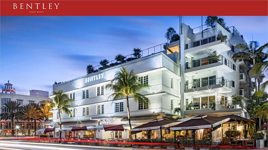 Tarjeta - The Bentley Luxury Suites Hotel