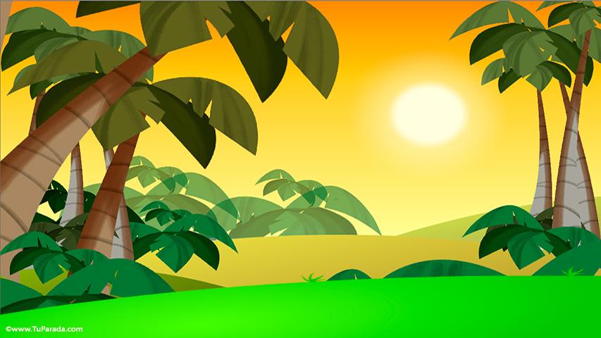 Tarjeta interactiva desde la selva - Ecards interactivas ...