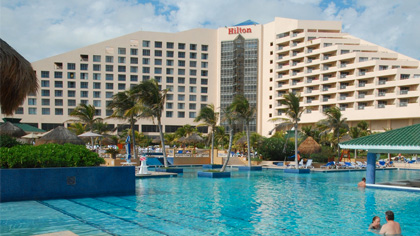 Caesar Park Hilton Cancun Beach & Golf Resort
