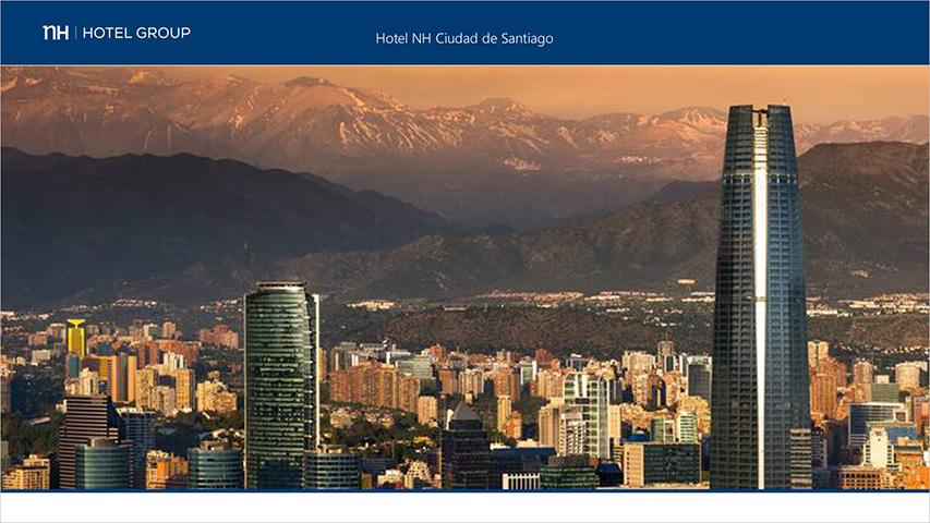 Tarjeta - NH Ciudad de Santiago