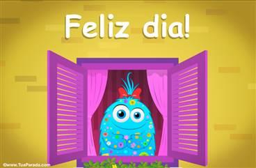 Cartão de feliz dia