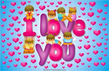 I love you sempre