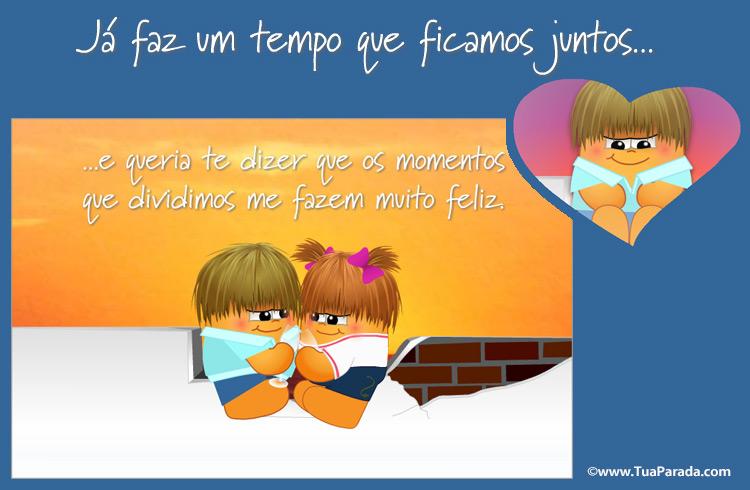 Cartão - Cartão romântico