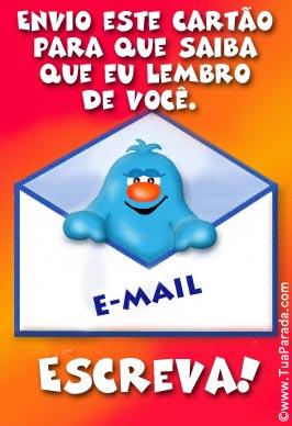 Cartão - Envio este cartão...