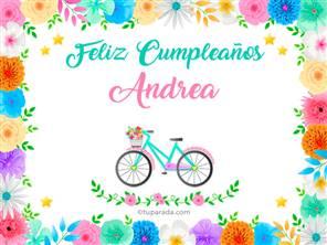 Tarjetas, postales: Andrea
