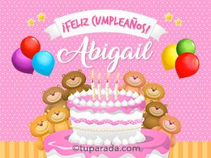 Cumpleaños de Abigail