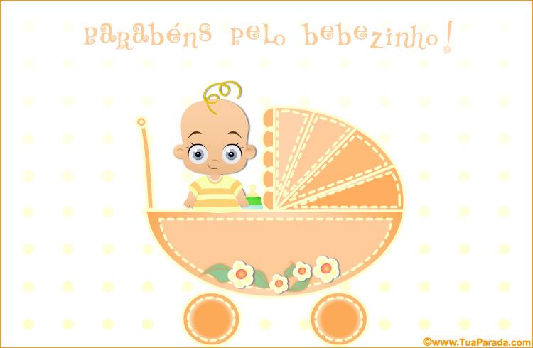 Cartão - Cartão do bebê
