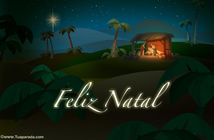 Cartão - Feliz Natal