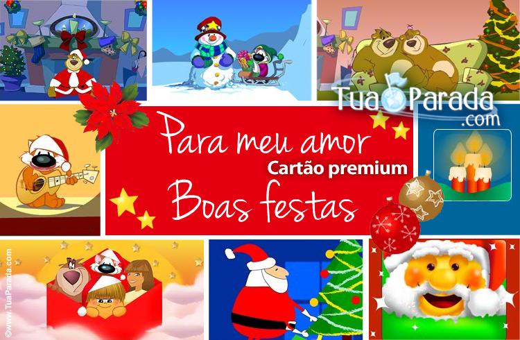 Cartão - Cartão de Natal para o meu amor