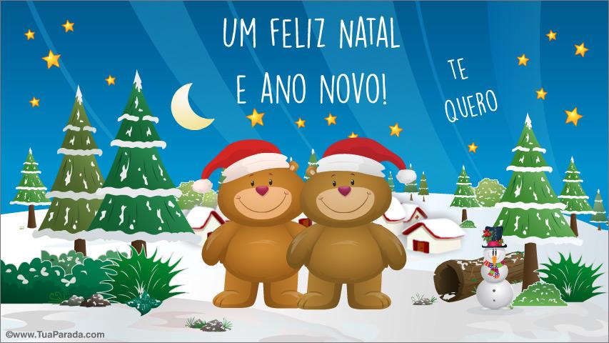 Cartão - Cumprimento especial do Natal