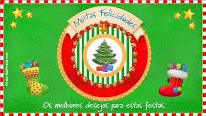 Cartões postais: Natal tradicionais