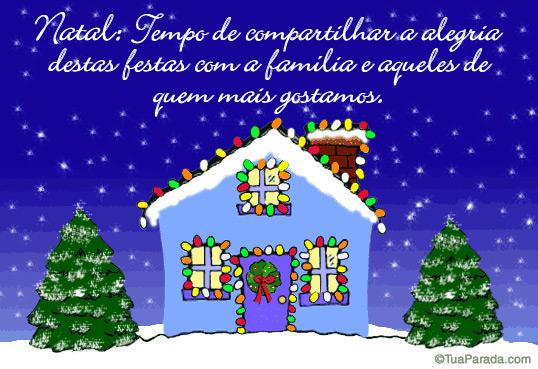 Cartão - Natal