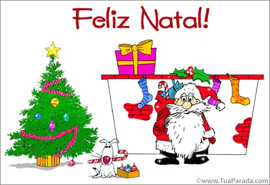 Cartão - Feliz Natal!