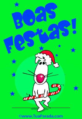 Cartão - Boas Festas