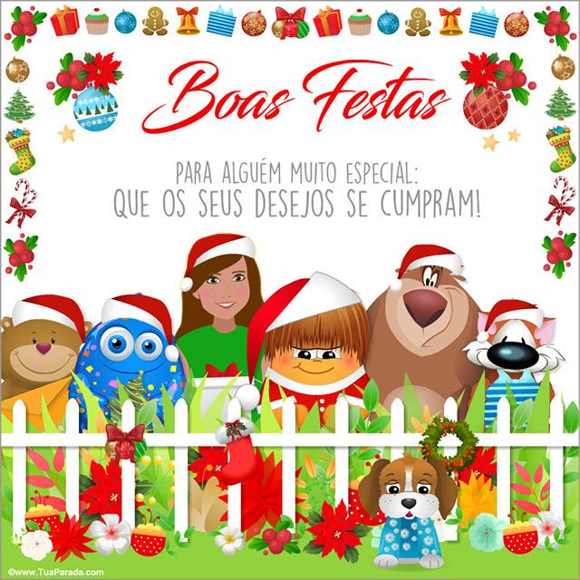 Cartão - Cartão de Natal de todos nós