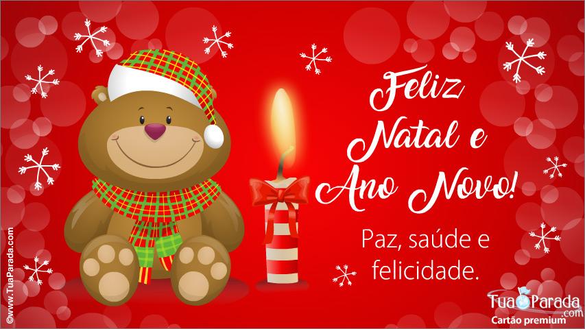Cartão - Feliz Natal e Ano Novo