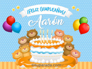 Cumpleaños de Aarón