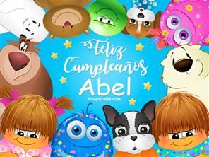 Feliz cumpleaños Abel
