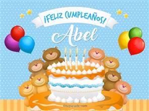 Cumpleaños de Abel
