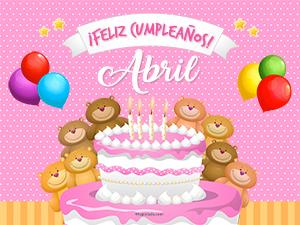 Cumpleaños de Abril