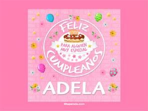 Tarjeta de Adela