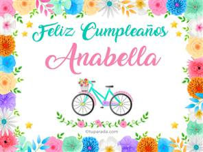 Tarjetas, postales: Anabella