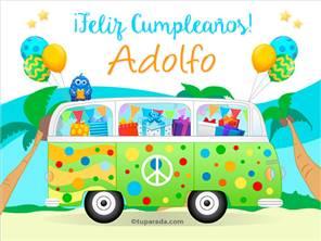 Tarjetas, postales: Adolfo