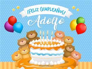 Cumpleaños de Adolfo