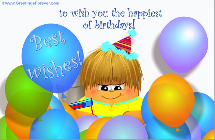 Ecard - Best wishes!