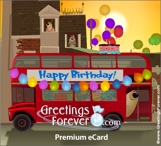 Ecard - Happy Birthday from your friends!